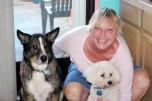 Cheryl Dudley and Buster
